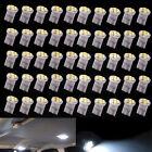 50X Xenon White T10 1206 8-SMD LED Wedge Car Light Bulbs 194 192 168 158 W5W 12V