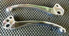 Lambretta Chrome Handle Bar Brake And Clutch Levers Levwr Set Series 3 SX TV GP