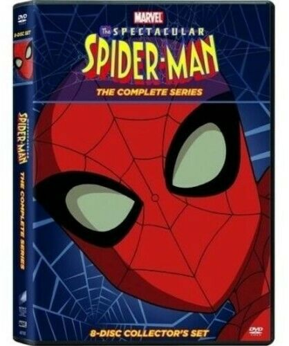 Spectacular Spiderman: The Complete Series - 8 DISC SET (DVD New)