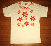Nwt, Prison Art T-shirt, Women's Large, White Tee, Prison Flowers, Prisoner Made