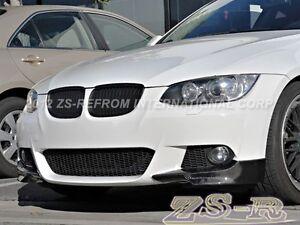 23cbe44fd8a Carbon Fiber Front Splitter Lip 2 Pcs for 07-10 328i 335i E92 M-Tech ...