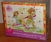 Fancy Nancy on The Move 100 Piece Lenticular Puzzle By Briarpatch