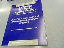 2002 Dodge Intrepid Police Package  Service Manual Supplement L@@K FREE Ship!!