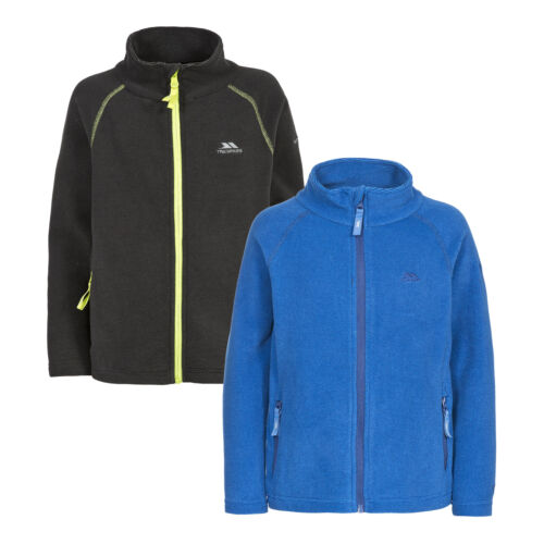 Trespass Ottis Boys Full Zip Fleece Lightweight Warm Outdoor Jumper Jacket