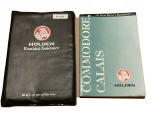 Holden-Commodore-Calais-VX-series-owners-handbook-Covers-Berlina-too-140xxx-k-039-s