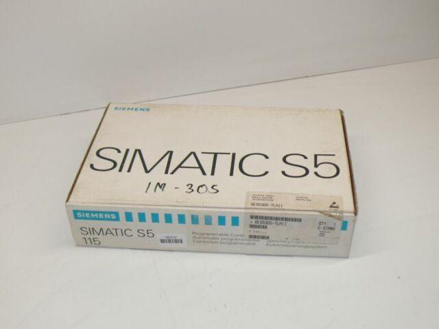 Siemens 6ES5305-7LA11 Interface Módulo 6ES5 305-7LA11 E :0 3 Nuevo Ovp