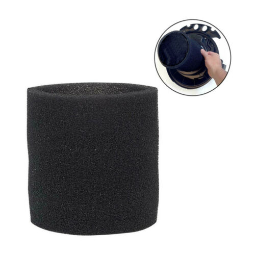 BLACK FOAM FILTER SLEEVE FOR GENIE AND SHOP-VAC WET AND DRY VACUUM CLEANER KITS