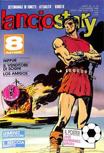 435-LANCIOSTORY-ed-Eura-1986-poster-Jose-Dirceu-n-49-stato-Ottimo