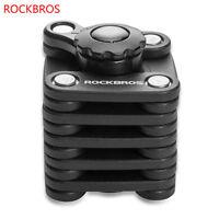 Rockbros Bike Lock Anti-theft Password Lock Mountain Bike Folding Lock Cube Lock