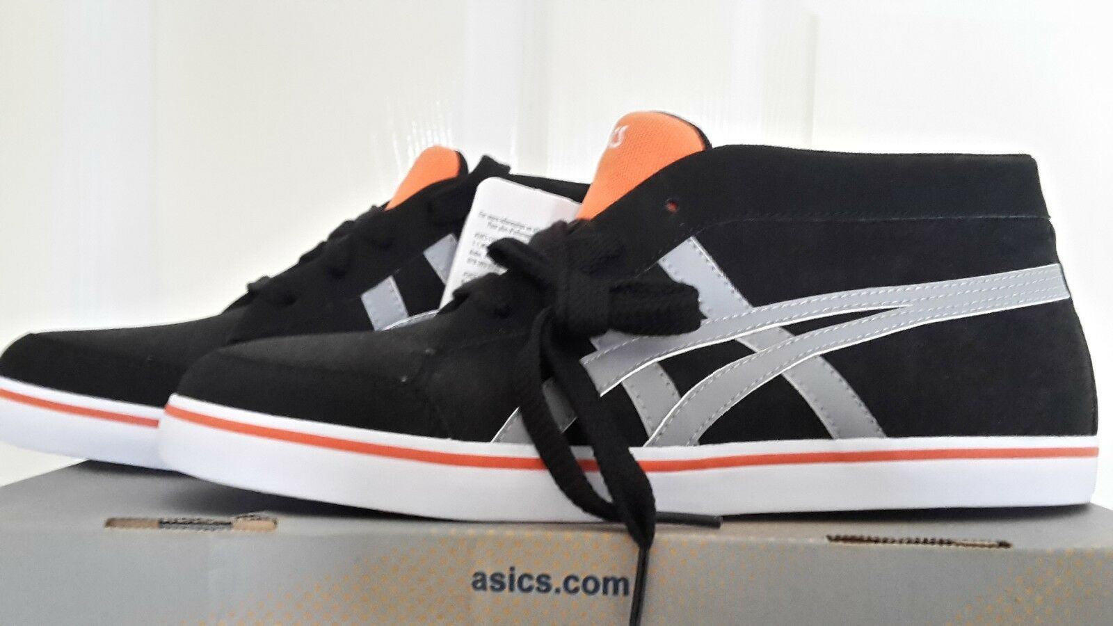 ASICS Sneakers 8 Trainers 8 Sneakers / 42.5 noir blanc Orange Buy New df0898