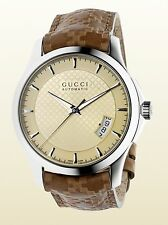 Gucci YA126421 G-Timeless Ivory Dial Sapphire Crystal Auto Movement Swiss Made