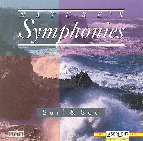 Nature's Symphonies: Surf & Sea by Various Artists (CD, May-1994) NEW