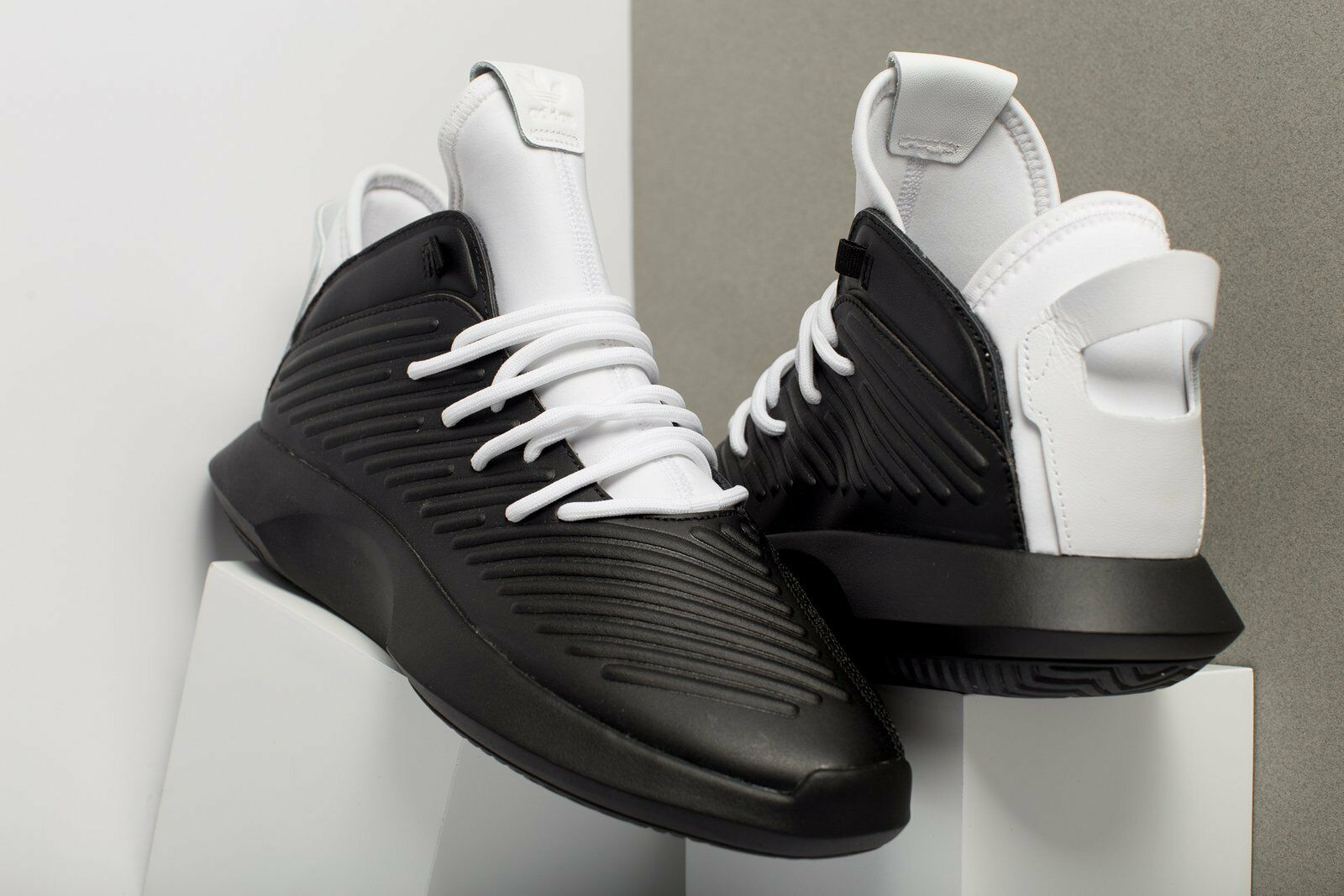 Adidas Originals Crazy 1 Adv Black White Basketball Leather Men New shoes AQ0321