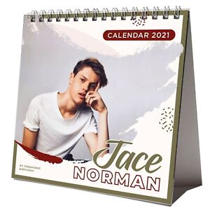 Jace Norman 2021 Desktop Calendar NEW With Christmas Card | eBay