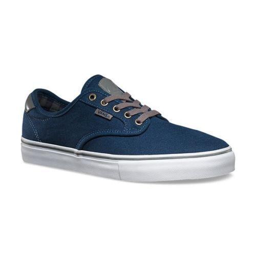 VANS Chima Ferguson Shoes Pro (Plaid) Dress Blues Skate Shoes Ferguson WOMEN'S 8.5 cfcb11
