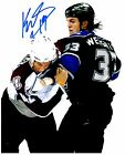 Los Angeles Kings KEVIN WESTGARTH Signed Autographed 8x10 Pic F
