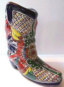 Mexican Folk Art Talavera Pottery