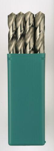 Heller HSS-G Long Series Ground Super Twist Metal Drill Bits 10 Pack Pick Size