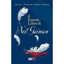 IL GRANDE LIBRO DI NEIL GAIMAN - FUMETTO MAGIC PRESS - NUOVO