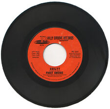 """FIRST CHOICE  """"GUILTY c/w WAKE UP TO ME""""   70's DANCE FLOOR CLASSIC   LISTEN!"""