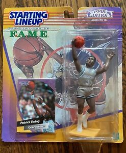1998 Patrick Ewing Georgetown Hoyas Starting Lineup College FAME Collection