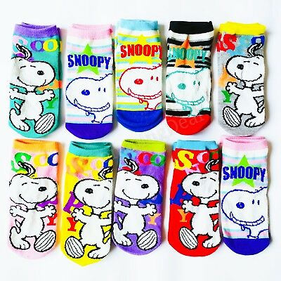 PEANUTS Snoopy Color Women/'s Socks Snoopy /& Woodstock 23-25cm