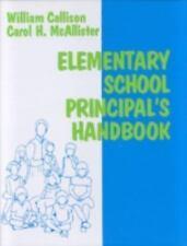 Elementary School Principal's Handbook-ExLibrary