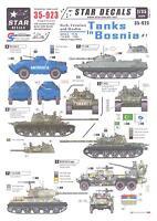 Star Decals 1/35 Serb Croatian & Muslim Tanks In Bosnia