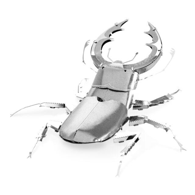 Metal Earth Stag Beetle MMS071 Metallbausatz Hirschkäfer Käfer Spinne 3D Puzzle