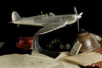 Wwii Supermarine Spitfire Metal Aluminum 29 Airplane Model Fighter Plane Ap456