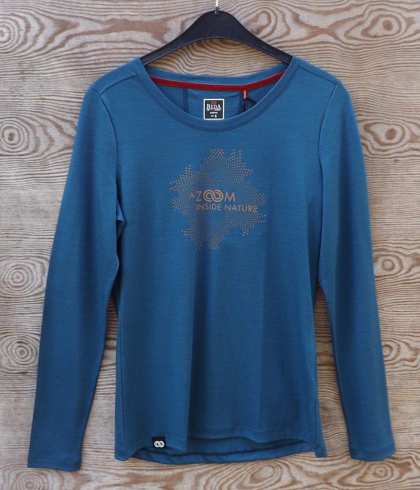 rotA Rewoolution Zoom  daSie Merino T Long Short Sleeve 190  Merinowolle