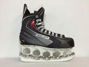 BAUER-Vapor-X-40-Eishockey-Schlittschuhe-mit-t-blade-Kufensystem-Gr-47