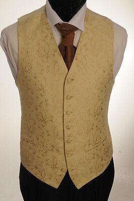 100% QualitäT Cw-54 Mens/boys Ornate Gold Waistcoat / Dress/ Suit / Party / Formal