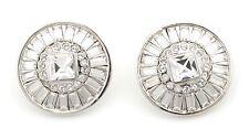 64cdbcfdb item 5 Zest Swarovski Crystal Stud Style Pierced Earrings Clear and Silver  -Zest Swarovski Crystal Stud Style Pierced Earrings Clear and Silver