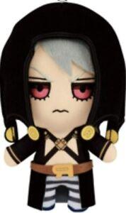 JoJo/'s Bizarre Adventure Tomonui Mascot Plush Doll RISOTTO NERO Official NEW