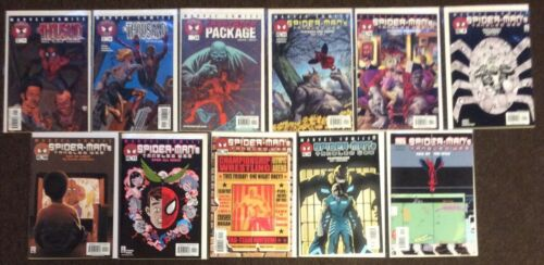 11 SpiderMan #1,2,4,5,6,9,10,11,14,16,19 Tangled Web lot nm Ennis Mahfood Rucka