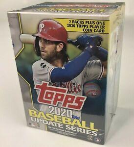 2020 Topps Update Baseball Cards Factory Sealed Blaster Box