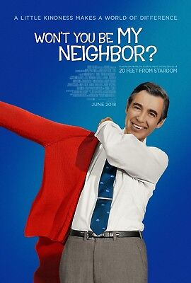 24x36 Won/'t You Be My Neighbor? Movie Poster Betty Aberlin - Joanne Rogers