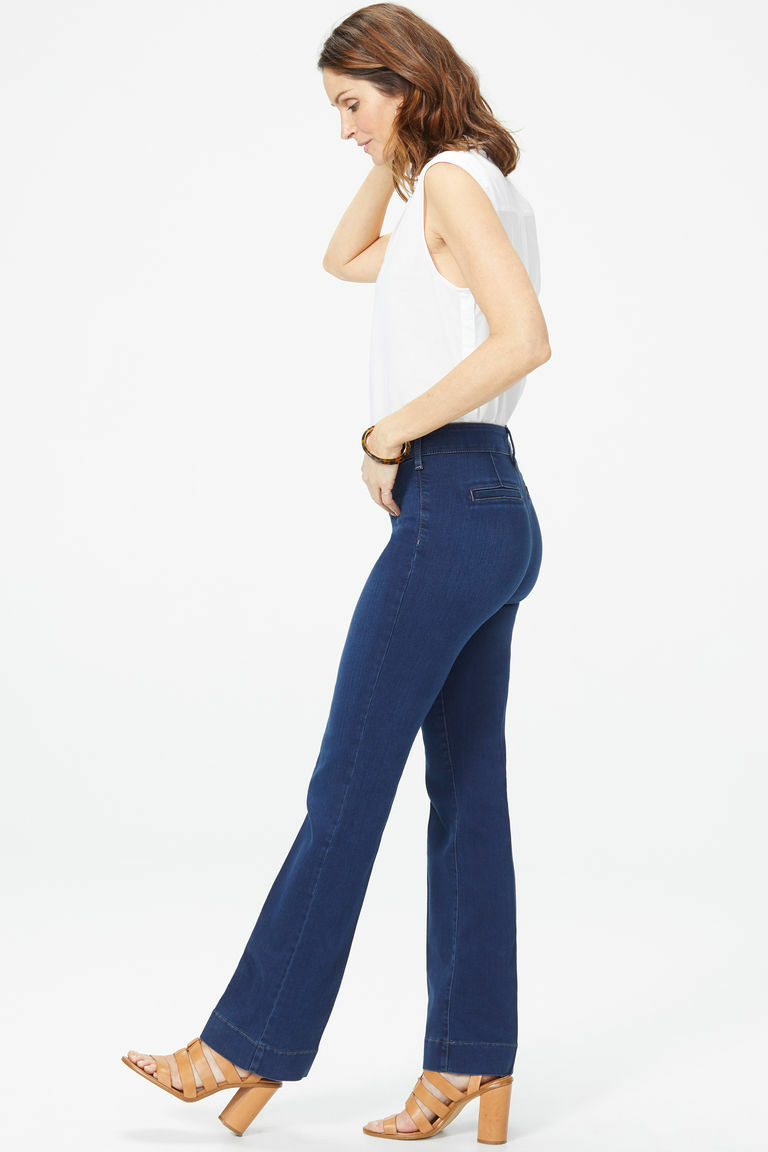 NEW NYDJ Not Your Daughters Jeans Teresa pants Trousers Provence bootcut 6 or 8