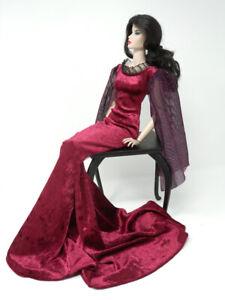 Burgundy-Elvira-Gown-by-KK-Fits-Fashion-Royalty-FR16-inch-Tyler-Sybarite