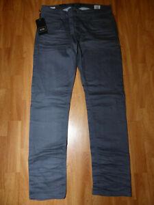 Neue-JACK-amp-JONES-Herren-Jeans-Slim-Fit-TIM-ORIGINAL-Gr-W34-L32-Grau-12096837