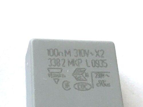 100nf 10 piezas 310v ~ bfc233820104 rm10 x2 20/% folienk 630v 0,1uf Vishay