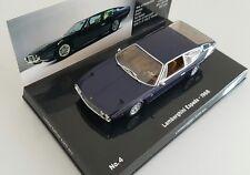 Rare! Lamborghini Espada 1968 Minichamps 1 43 blue .