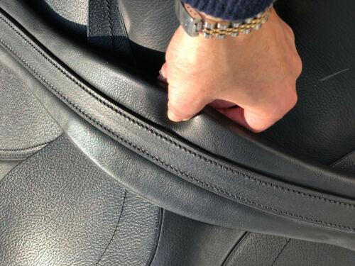 Easytrek long chafeless girth super soft padded leather for sensitive skinned
