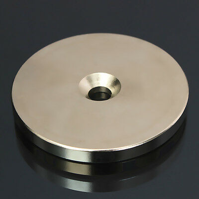 N52 Countersunk Ring Magnets Disc 50mm x5mm Rare Earth Magnet Neodymium Hole 6mm