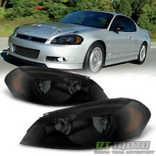 Black Smoke Headlamps Replacement 2006 2013 Chevy Impala Headlights Leftright Fits 2006 Impala