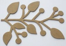 "Fall Leaves Style 2 2 1//8/"" x 2 1//4/"" 4 Bare Chipboard Die Cut MAPLE LEAF"