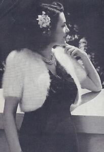 Vintage-Knitting-PATTERN-to-make-Angora-Bolero-Shorty-Jacket-Prom-Wrap-AngoraBol