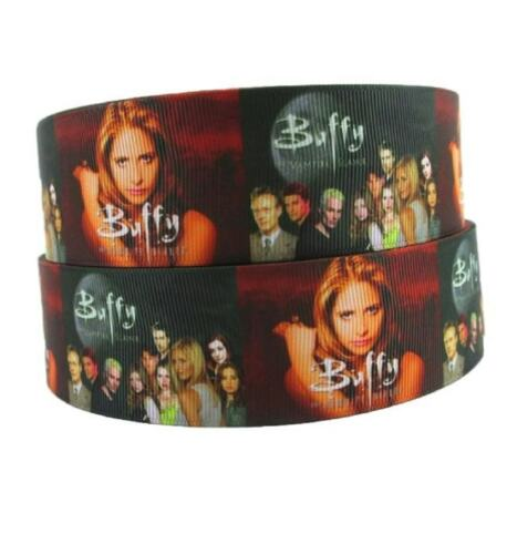 """Buffy The Vampire Slayer 1 1//2/"""" Wide Repeat Ribbon Sold in Yard Lots"""