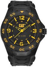 Men's Black And Yellow Caterpillar CAT Motion Watch LB11121137